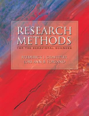 Research Methods for Behavioral Science With Infotrac