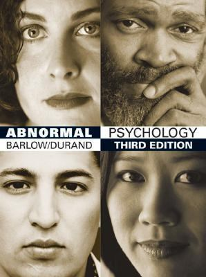 Abnormal Psychology: An Integrative Approach, with Infotrac College Edition