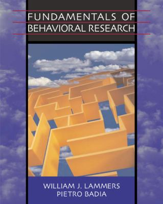 Fundamentals Of Behavioral Research with infotrac