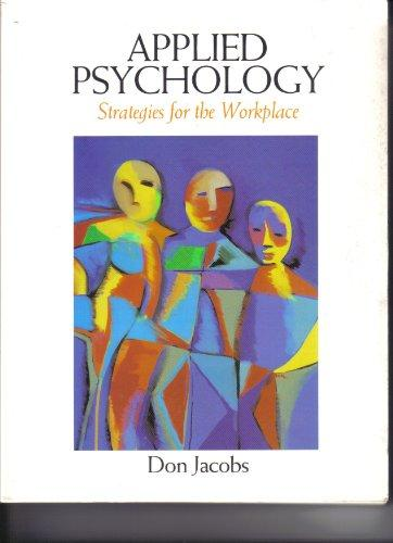 Applied Psychology (Strategies for the Workplace)