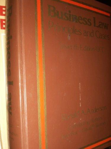 Business law, principles and cases