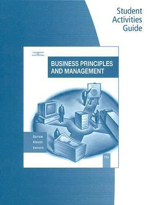 Student Activity Guide, Business Principles and Management, 12e