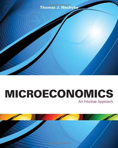 Microeconomics: An Intuitive Approach (with LiveGraphs Web Site Printed Access Card) (Available Titles Aplia)