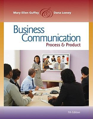 Business Communication: Process and Product (International Edition)