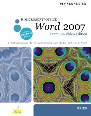 New Perspectives On Microsoft Office Word 2007 Brief Premium Video