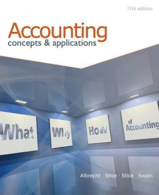 Accounting: Concepts and Applications (with Annual Report)