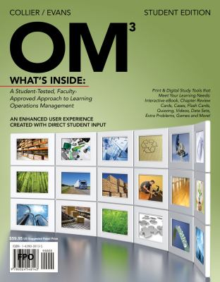 OM 3 (with Review Cards and Decision Sciences & Operations Management CourseMate with eBook Printed Access Card)