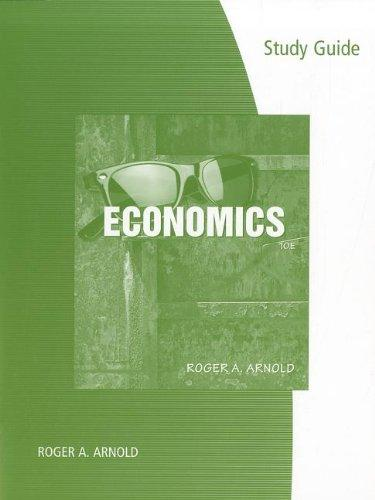 Study Guide for Arnold's Economics