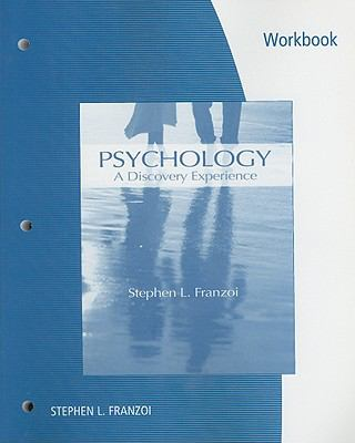 Student Workbook for Franzoi's Psychology: A Discovery Experience
