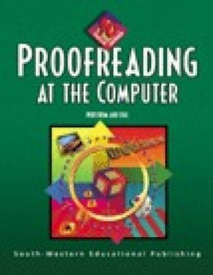 Proofreading at the Computer