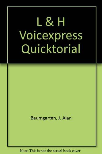 L & H Voice Xpress Quicktorial