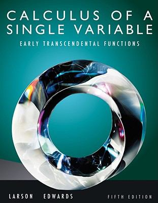 Calculus of a Single Variable: Early Transcendental Functions (Available 2011 Titles Enhanced Web Assign)