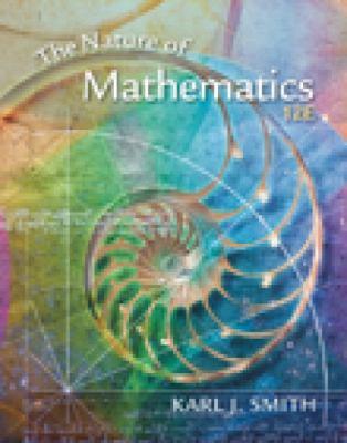 Nature of mathematics: karl j. Smith: 9781133947257: amazon. Com: books.