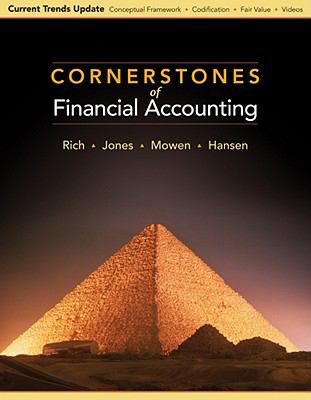Cornerstones of Financial Accounting, Currency Update Edition