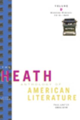 The Heath Anthology of American Literature: Modern Period (1910-1945), Volume D (Heath Anthologies)