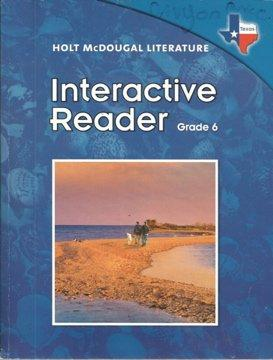 Holt McDougal Literature Texas: Interactive Reader Grade 6