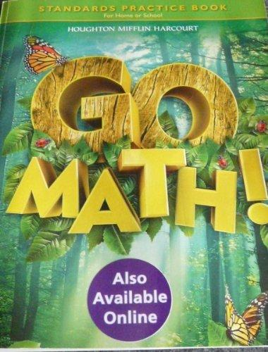 Go Math!: Standard Practice Book, Level 1