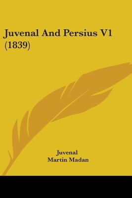Juvenal and Persius V1