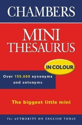 Chambers Mini Thesaurus In Colour