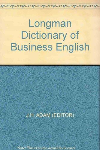 Longman Dictionary of Business English