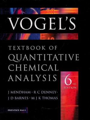 Vogel's Quantitative Chemical Analysis
