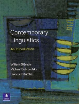 Contemporary Linguistics An Introduction