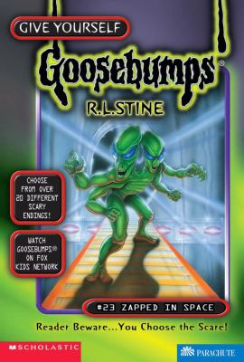 Zapped in Space (Give Yourself Goosebumps Series #23) - R. L. Stine - Hardcover