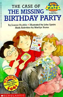 The Case of the Missing Birthday Party - Joanne Rocklin - Paperback