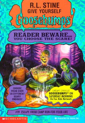Escape from Camp Run-for-Your-Life (Give Yourself Goosebumps Series #19) - R. L. Stine - Paperback
