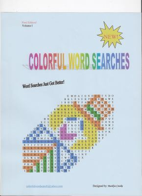 Colorful Word Searches : Volumn I