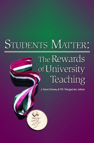 Students Matter: The Rewards of University Teaching