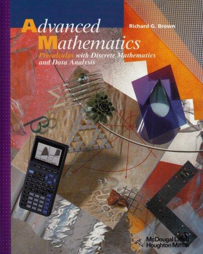McDougal Littell Advanced Math: Student Edition  Grades 9-12 2000