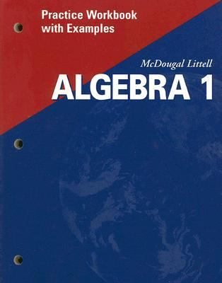 Algebra 1 Practice Workbook With Examples