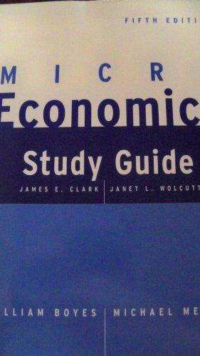 Microeconomics Study Guide, Fifth Edition