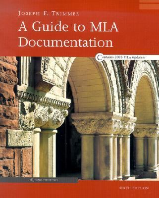 Guide to Mla Documentation With an Appendix on Apa Style