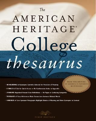 American Heritage College Thesaurus