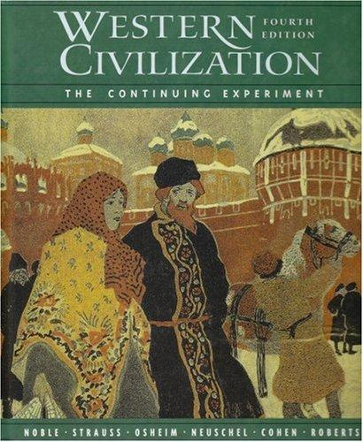 Western Civilization: The Continuing Experiment