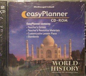 McDougal Littell World History: Patterns of Interaction: EasyPlanner CD-ROM Grades 9-12