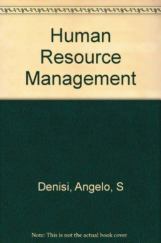 Human Resource Management With Webcard Second Edition