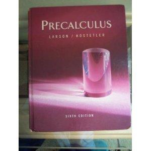 Pre-Calculus 6th Edition