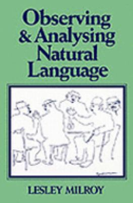 Observing+analysing Natural Language
