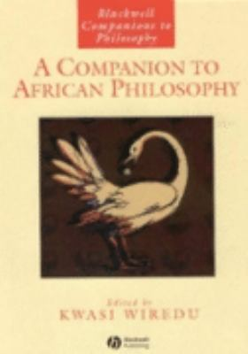 Companion to African Philosophy
