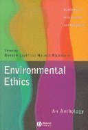 Environmental Ethics: An Anthology