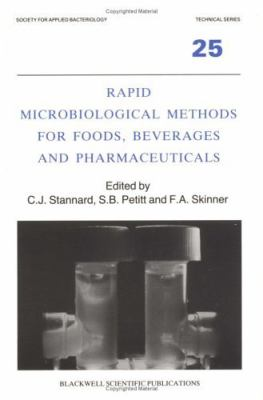 Rapid Microbiological Methods for Foods Beverages and Pharmaceuticals