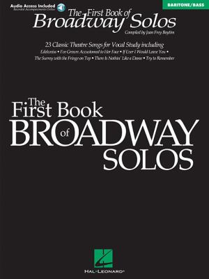 First Book of Broadway Solos Baritone/Bass