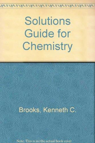 Solutions Guide for Chemistry