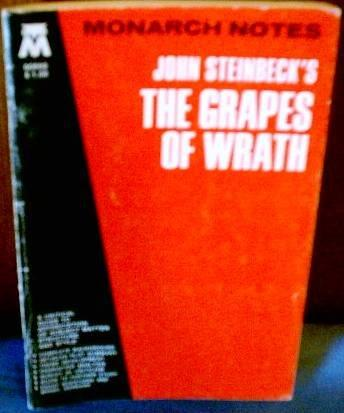 John Steinbeck's the Grapes of Wrath (Monarch Notes)