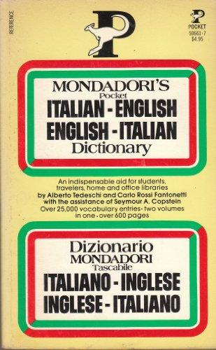 Mondadori's Pocket English-Italian Italian-English Dictionary
