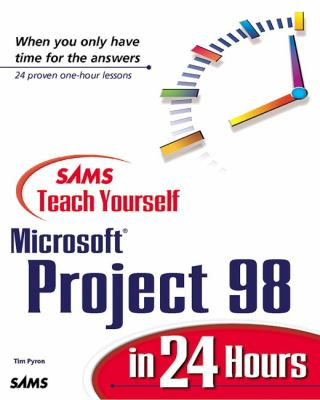 Teach Yourself Micro.proj.98 in 24 Hrs.