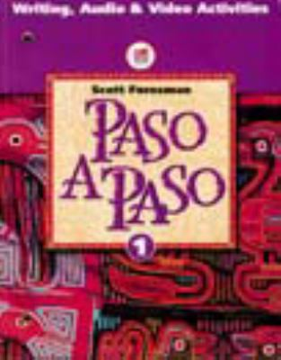 PASO A PASO 1996 SPANISH STUDENT EDITION WORKBOOK TAPE MANUAL LEVEL 2